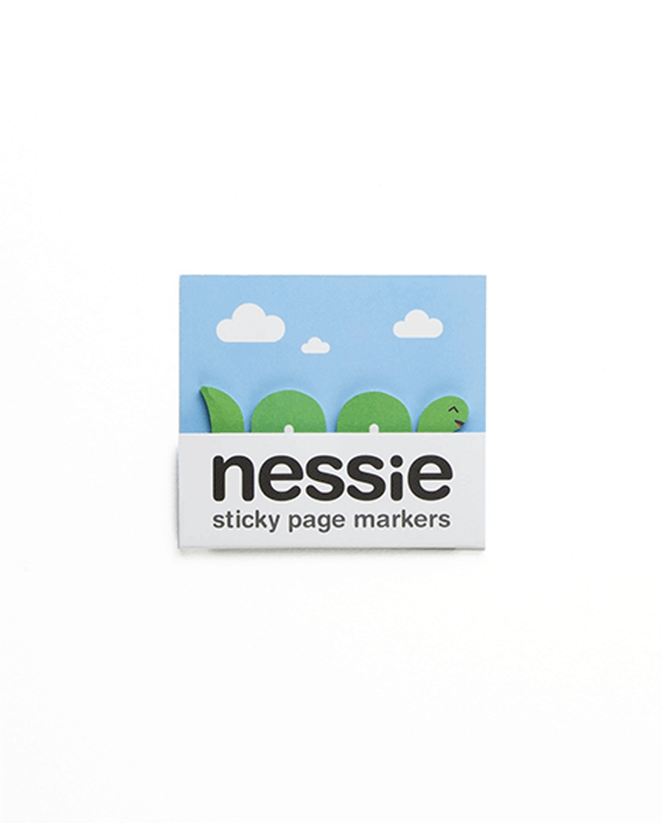 Nessie sticky page markers